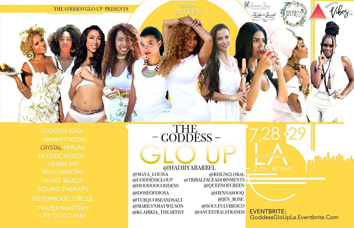 Goddess GloUp LA Retreat – Coming July 28-29